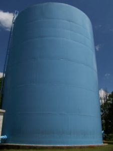 Bear Creek - Tank Under Water Tank Maintenance