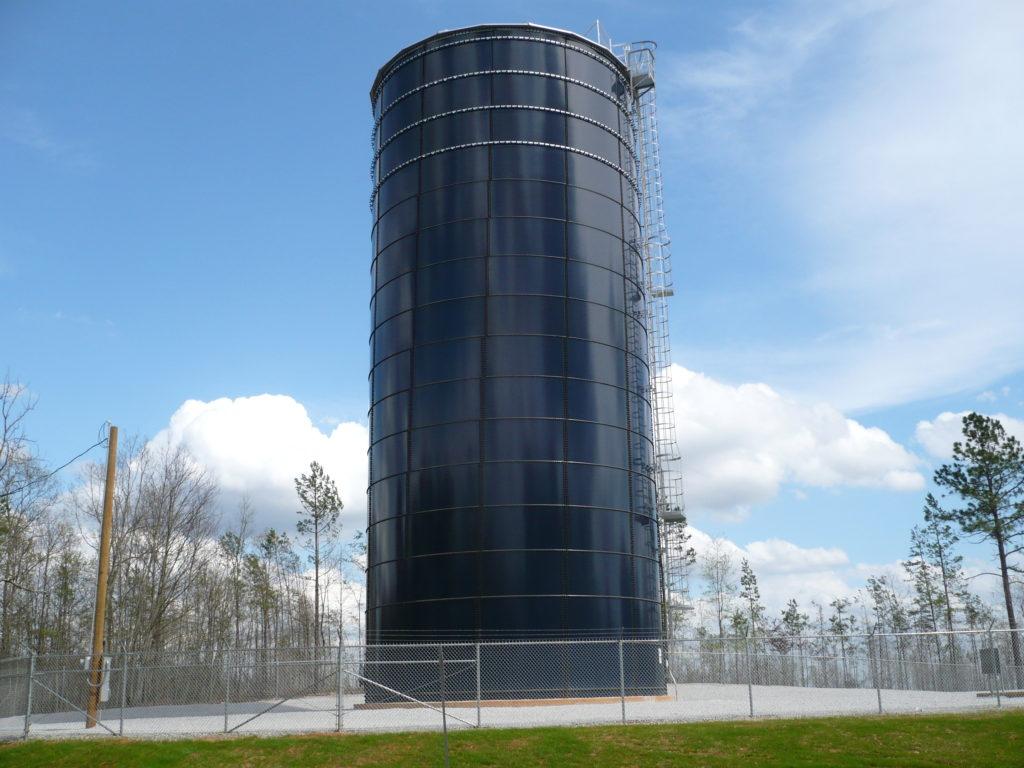 Randolph Co- Tank Under Water Tank Maintenance